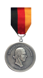 Медалью Самуэля Христиана Фридриха Ганеманна награждена компания ЭД Медицин