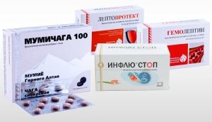 Продукты, обладающие прямым действием на имунную систему