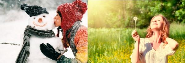 Будьте здоровы - летом и зимой!