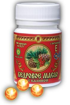 «Кедровое масло с витамином Е»