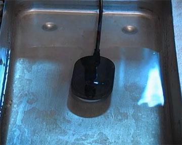 Тестирование в воде. Модель 2