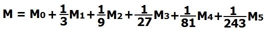 Развернутая формула начисления миль