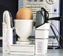 Можно ли сварить яйцо с помощью мобильного телефона
