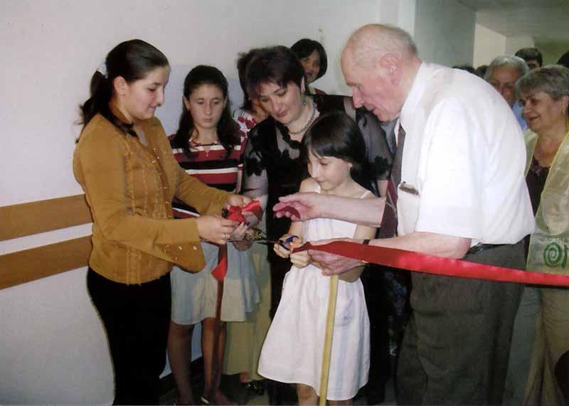 Открытие шунгитовой комнаты в Беслане