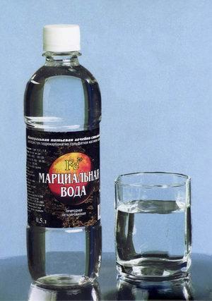 Марциальная вода