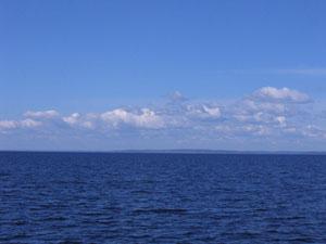Вода Онежского озера