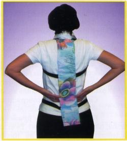 Шунгитовая спинная накладка