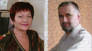 Галина Нейштетер и Леонид Николаевич Маслов
