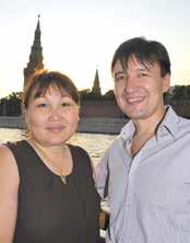 Андрей Цыдыпов и Елена Иванова