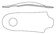 Конструкция супинированной стельки