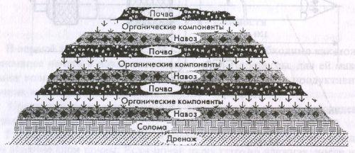 Рис. 1 Схема бурта