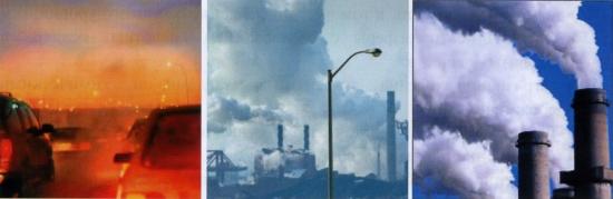 Рис. 1. Загрязнение атмосферного воздуха городов России