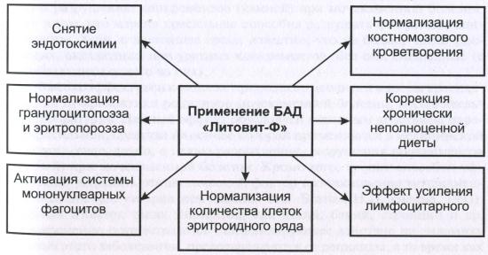 Роль БАД «Литовит-Ф» в профилактике железодефицитных анемий