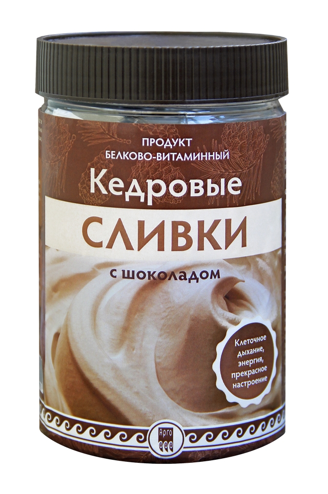 Кедровые сливки с шоколадом