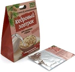 «Кедровый завтрак для здоровья сердца» с боярышником и амарантом