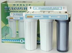3-х ступенчатый фильтр для доочистки питьевой воды «Водолей-БКП»