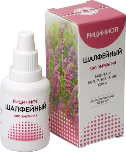 Рициниол-Ш с маслом шалфея