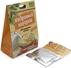 Купить «Кедровый завтрак для здоровья печени» с расторопшей и куркумой (код 0527), цена