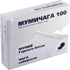 Мумичага, таблетки, 100 шт