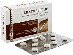 Гепатолептин, таблетки, 50 шт