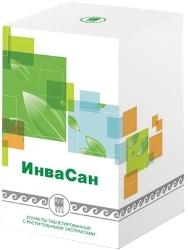 Купити ИнваСан, цукерки таблетовані з рослинними екстрактами (код 0731), ціна