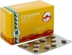 Каталитин, таблетки (40шт)