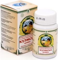 Продукт кисломолочный сухой «КуЭМсил» Цзамба, таблетки 60 шт